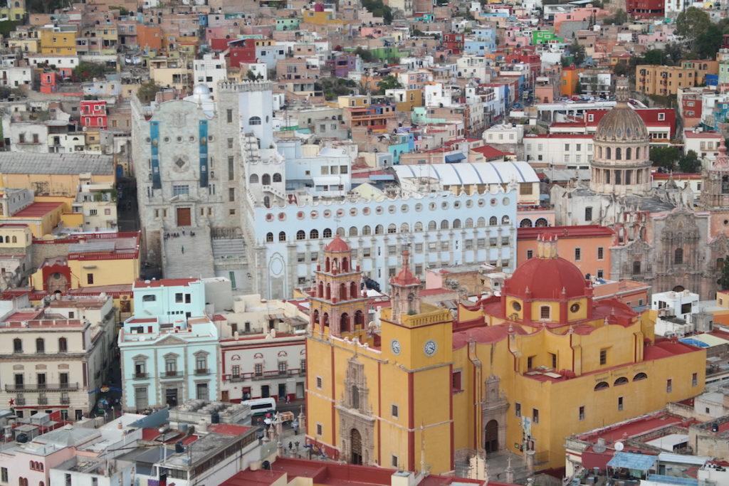 Le théâtre de la ville de Guanajuato
