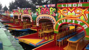 Xochimilco à Mexico
