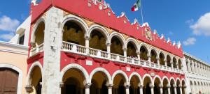 Construction centre-ville de Mérida