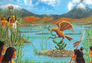 La légende aztèque en images