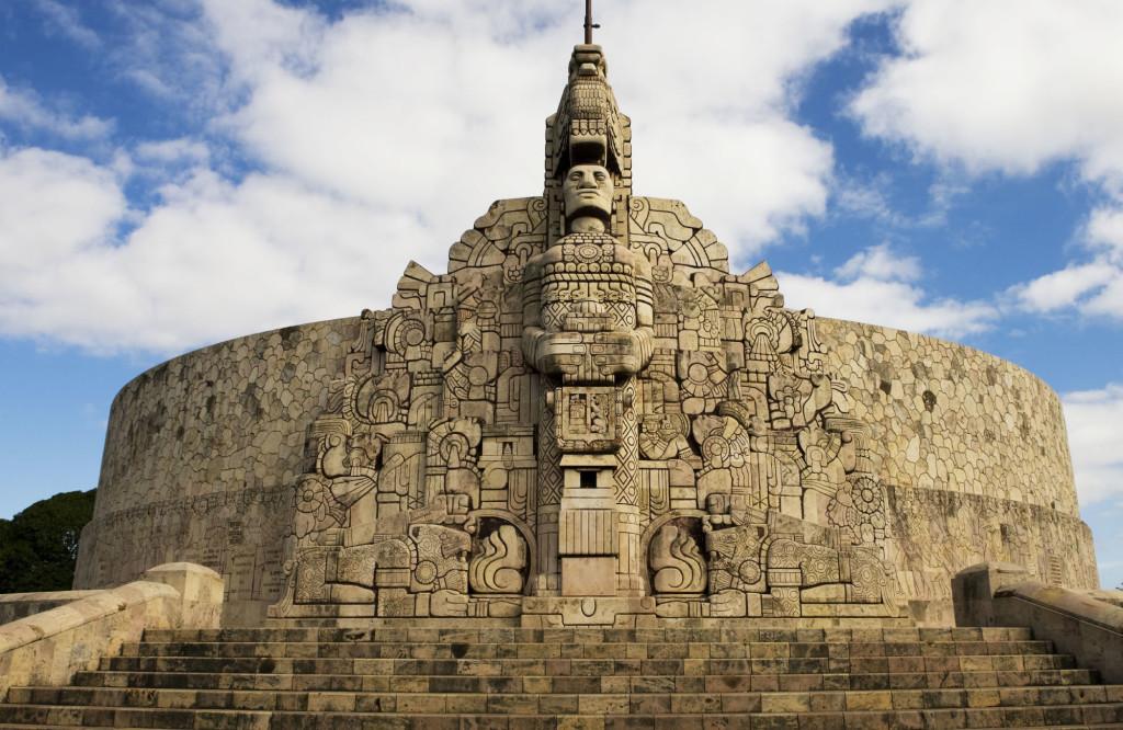 Monumento a la Patria, ville de Mérida