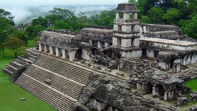 Le site archéologique de Palenque au Mexique