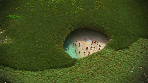 Playa escondida, Islas Marietas près de Puerto Vallarta