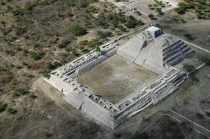 Site archéologique de Cañada de la Virgen, prôche de San Miguel de Allende