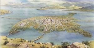 Tenochtitlan, capitale aztèque