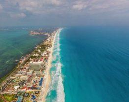 Zone hotelière de Cancun